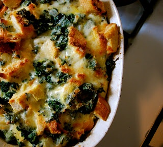 Spinach and Cheese Strata | Gastronomy Appetizers | Pinterest
