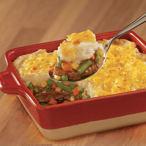 Meat Loaf Shepherd's Pie | Banquet | Cassaroles | Pinterest