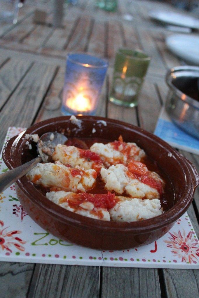 Ricotta Gnudi with Pomodoro Sauce | om nom nom | Pinterest