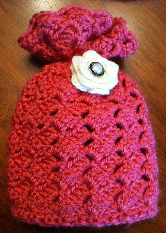 Crochet Pattern: Classic Charm Sack Hat, Permission to Sell Finished ...