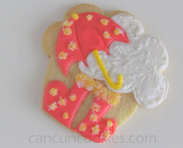 Rainy Day (Cupcake Cookie Cutter)