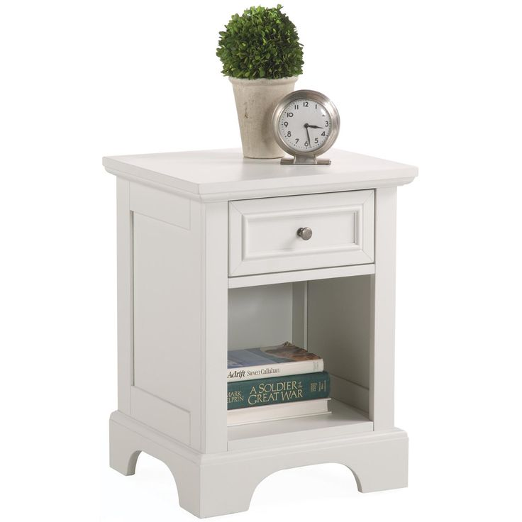 Naples white nightstand overstock com shopping the best deals on