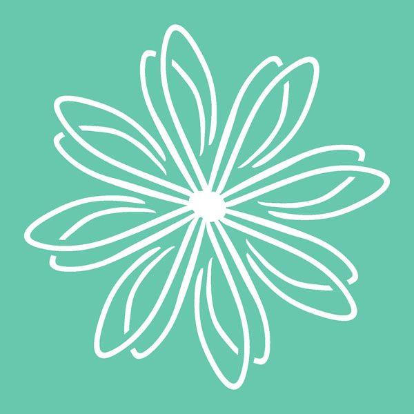 flower stencil patterns - photo #17