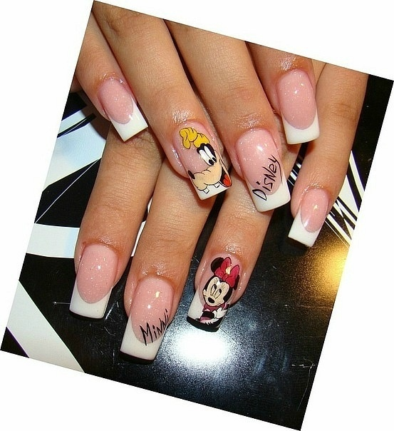 The Exciting Disney nail art Pics