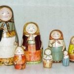 Russian Porcelain Dolls