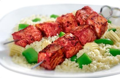 Tandoori-style Charred Salmon And Vegetables Recipes — Dishmaps