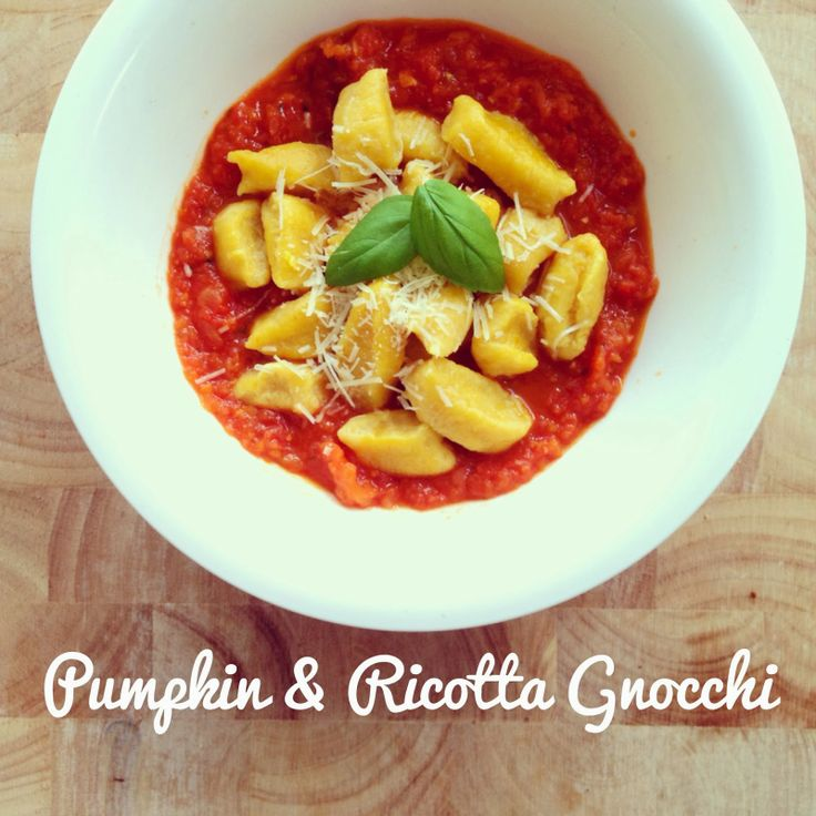 Pumpkin & Ricotta Gnocchi | Thermomix recipes | Pinterest