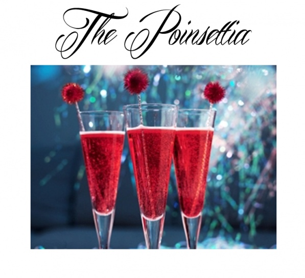 Christmas Cocktail the Poinsettia | Adult Sips | Pinterest