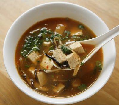 vegan hot and sour soup | Vegan Feast | Pinterest