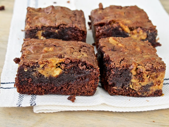 Peanut Butter Brownies | Chewy, Chocolate Fudge & Peanut Butter ...