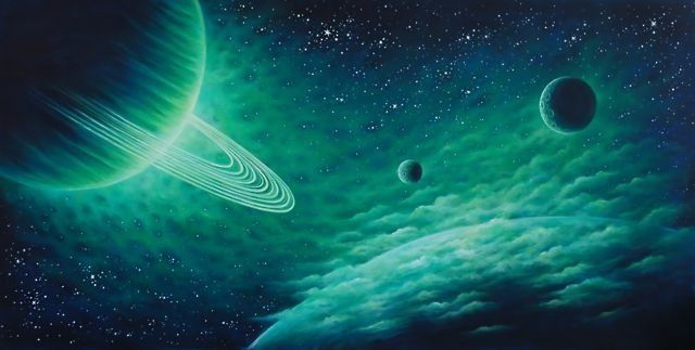 Saturn | Psychedelic | Pinterest
