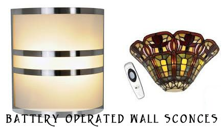 Pin by kirk kirby on battery operated wall sconces pinterest - Battery operated crystal wall sconces ...