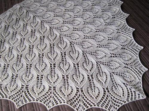 Схемы вязания спицами фишю