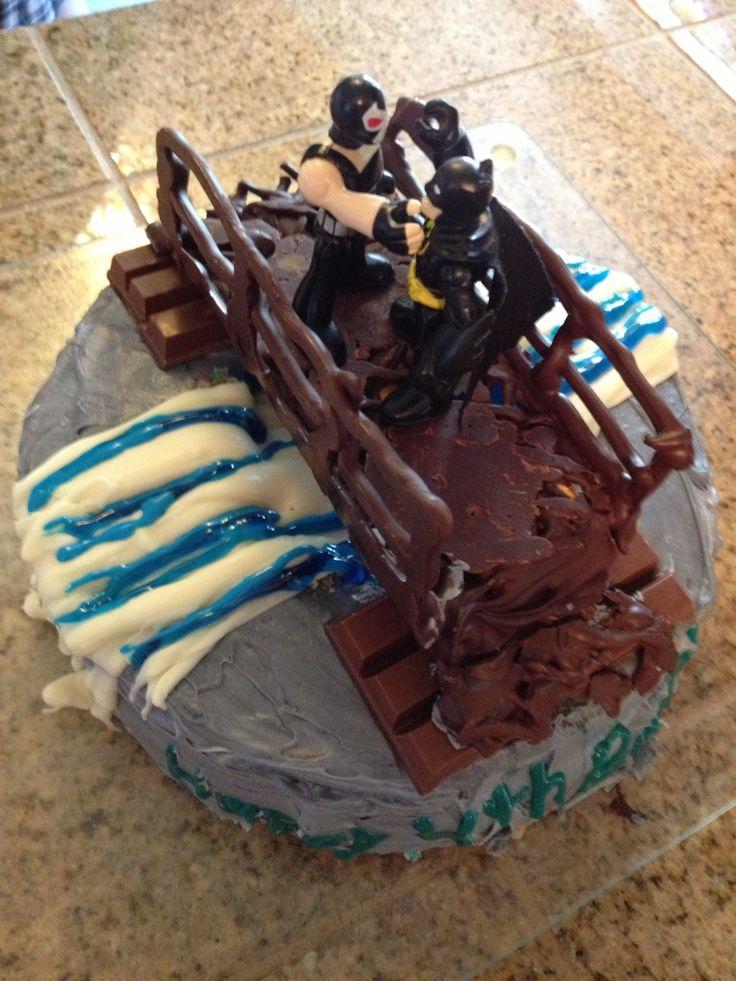 Dark Knight Rises Birthday Cake Ideas