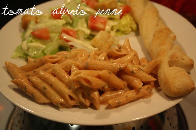 ... for most of it though. -Meals For My Minions: Tomato Alfredo Penne