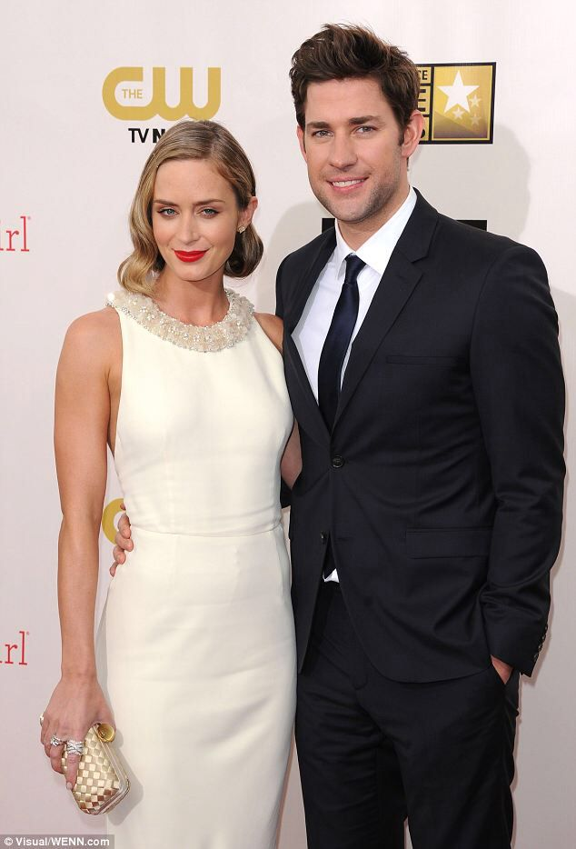 Emily Blunt and husban...