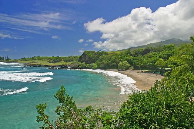 Hamoa Beach by wandermelon, via Flickr