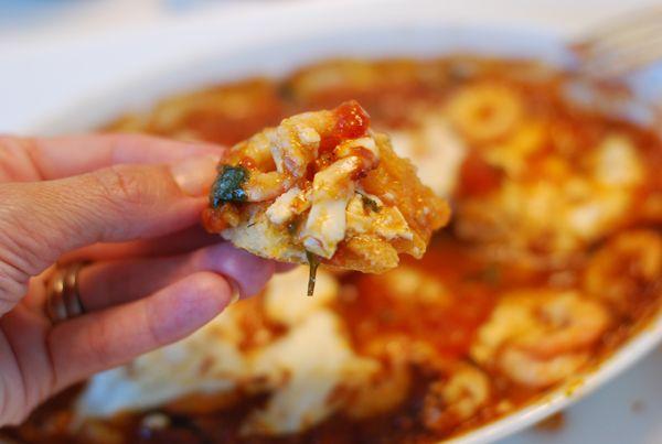 Shrimp saganaki | Fisk og sjømat | Pinterest