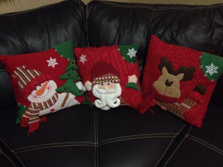 Cojines navide os merry x mas pinterest - Cojines de patchwork ...