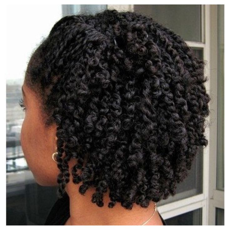 Two strand twist on natural hair long hairstyles