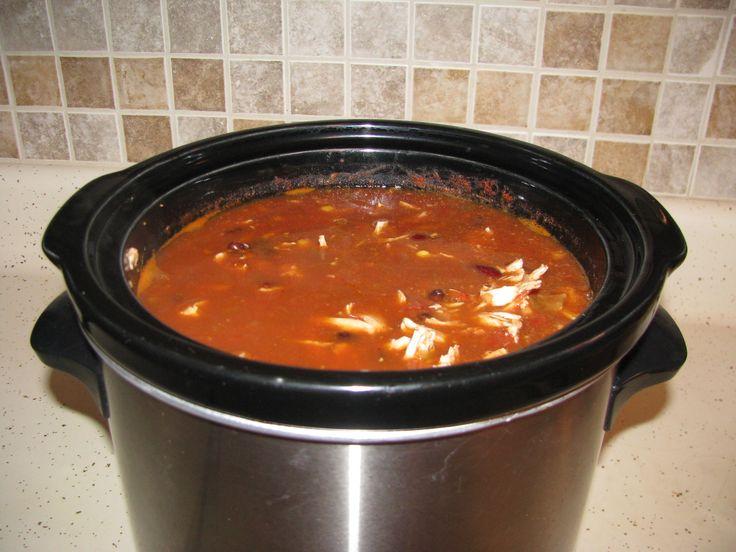 Crock Pot Chicken Taco Chili | Crock Pot | Pinterest