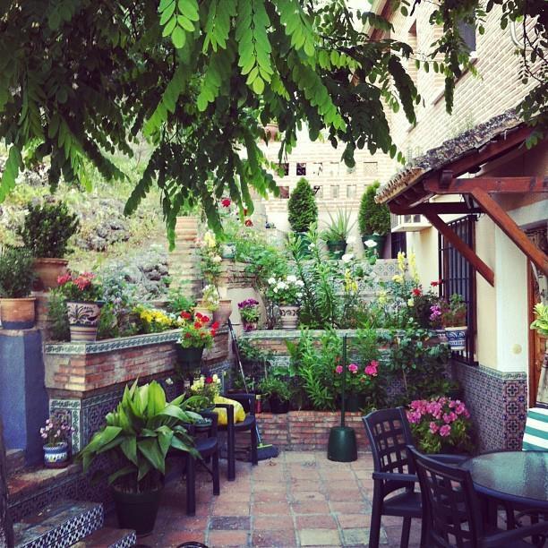 Spanish Garden For The Home Pinterest