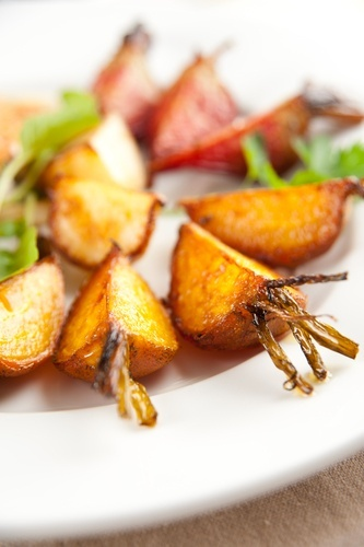 Salt Roasted Golden Beets With Anise Seeds Recipe — Dishmaps