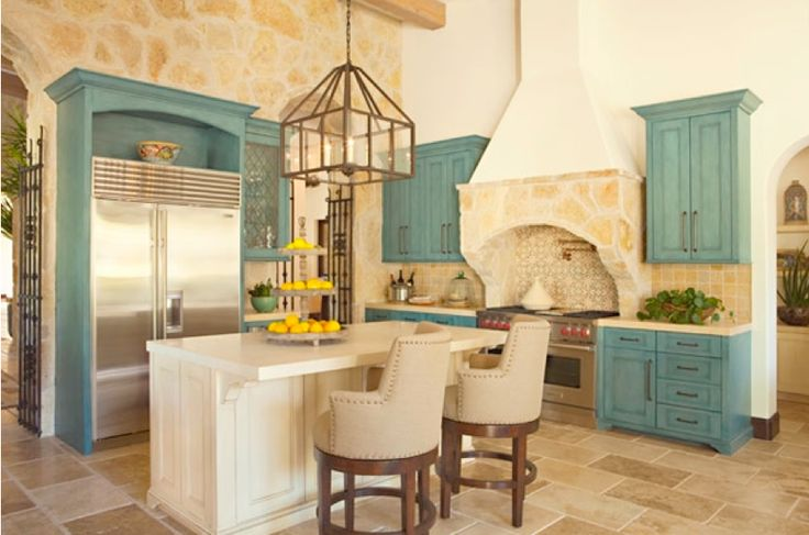 turquoise and ivory kitchen be better than kitchen cabinets glazed in