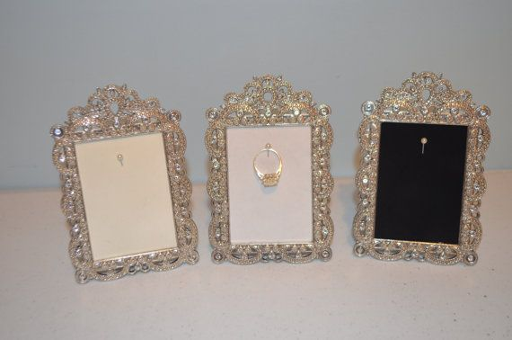 engagement wedding ring picture frame ring holder 2 5 quot x