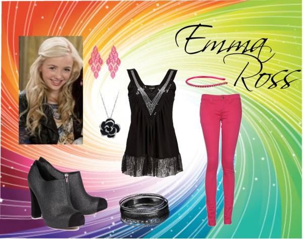 Emma Ross Jessie Clothing Reesebrat polyvore com   quot emmaEmma Ross Outfits On Jessie