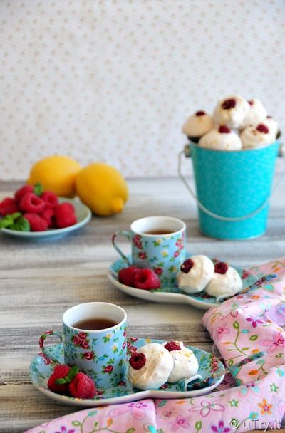 Lemon Raspberry Meringue Bubbles: Perfect homemade gift for the ...
