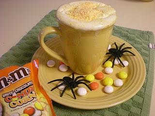 coffee with a kick white chocolate candy corn m amp m s coffee