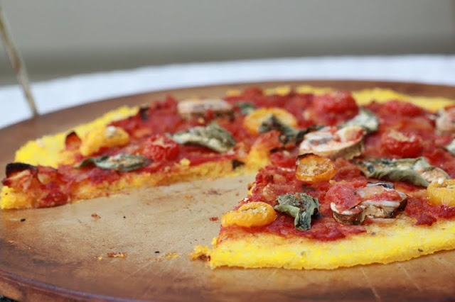 polenta pizza and an introduction! | forgiving martha