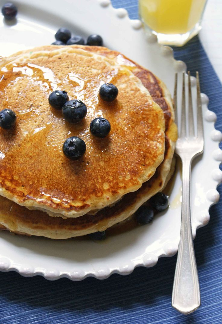 Gluten-Free Quinoa Buttermilk Pancakes (to make egg free)