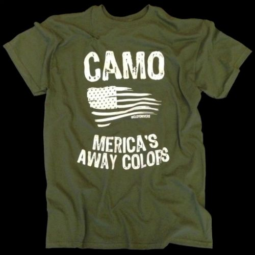 T-Shirt - Merica's Away Colors (Green)