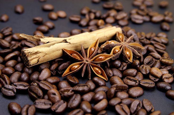 Кофе крупным планом зерна еда