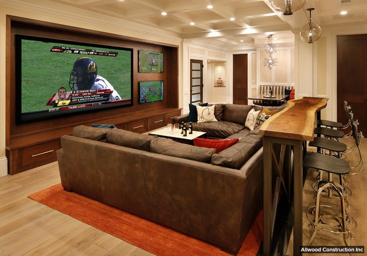A Bar Behind The Couch Living Room Pinterest