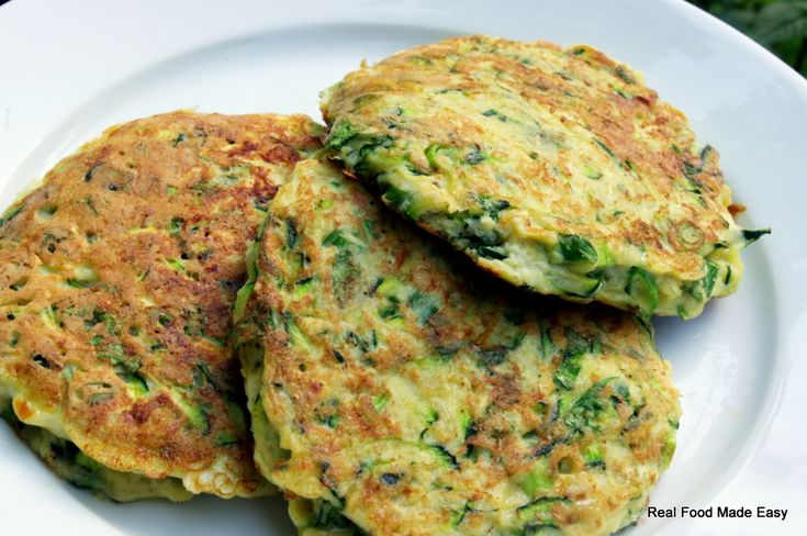 zucchini pancakes | Food: New Rules & Balance | Pinterest