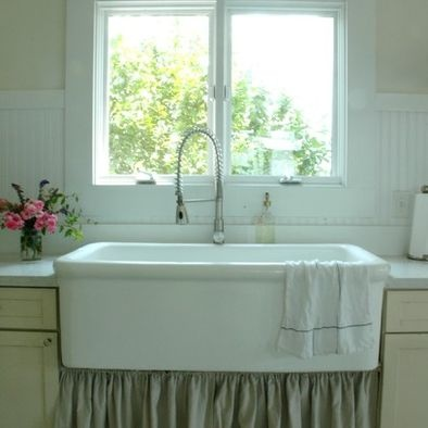 Farmhouse Kitchen Curtain Under Sink For The Home Pinterest