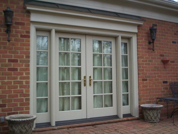 Pella architect series french door window information pinterest - Anderson french doors screens ...