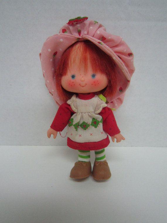 Vintage Strawberry Shortcake Doll by therustywagonshoppe on Etsy, $14 ...