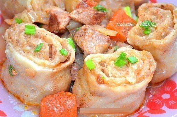 Манка с мясом рецепты