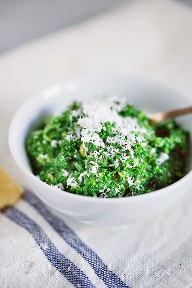 Nettle Pesto! | vegetarian eats | Pinterest