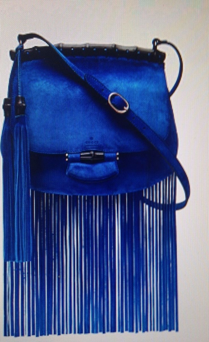 Gucci, Blue and Fringe