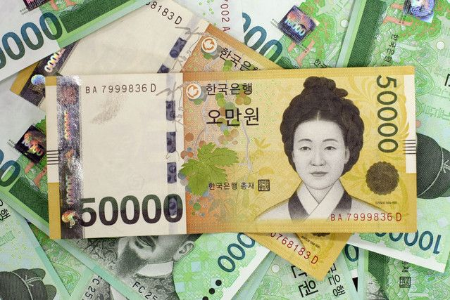 Forex peso to korean won