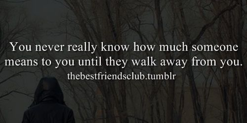 how to walk away from unavailable friend