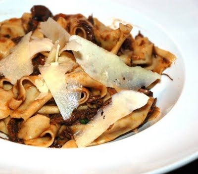 Braised Beef Stroganoff With Pappardelle Recipes — Dishmaps