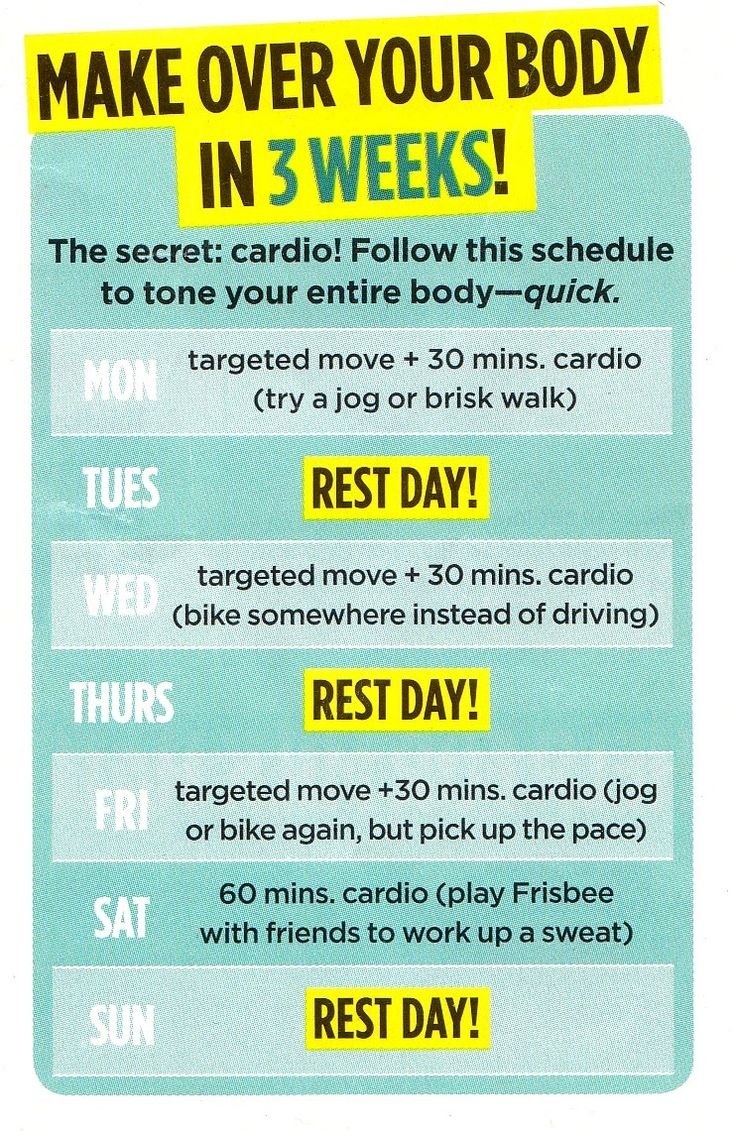 cardio fitness plan Sara lindberg, bs, med, is a freelance health and fitness writer she holds a bachelor's of science degree in exercise science and a master's degree in counseling she's spent her life.