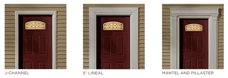Vinyl Siding Door Surrounds Homestead Ideas Pinterest