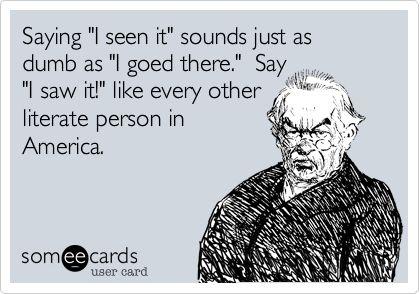 Literate people